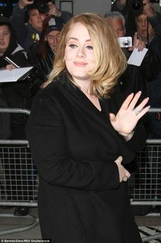 Natural beauty: Adele was pictured arriving at the Radio 2 studios. My Big Love, Love Her, Adele Video, Adele Pictures, Tristan Wilds, Adele Love, Adele Adkins, English People, Cool Lyrics