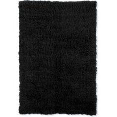 Festival Safari Area Rug (Assorted Sizes) - Sam's Club Flokati Rugs, Black Rug, Color Black, Natural Rug, Black Pattern, Decoration, Colorful Rugs, Rug Size, Hand Weaving