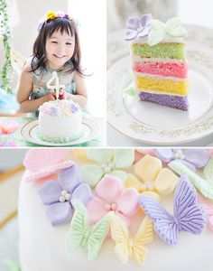 Magical Butterfly Garden Tea Party