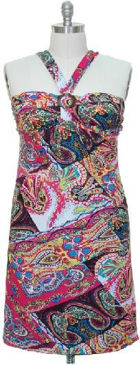 Summer Hottie plus size dress in 1x