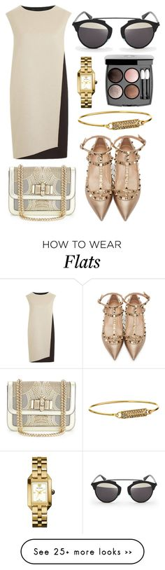 """rxch"" by andinaendeiena on Polyvore featuring PINGHE, Valentino, Christian Louboutin, Rebecca Minkoff, Tory Burch, Chanel and Christian Dior"