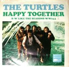 The Turtles - Happy Together 45' sleeve