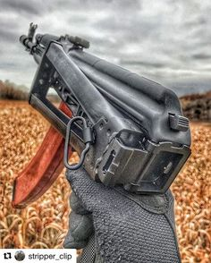with ・・・ AK butts drive me 🥜🐿 _____________ M16 Rifle, Assault Rifle, Custom Glock, Custom Guns, Ak 47, Rifles, Armas Wallpaper, Ak Pistol, Combat Gear