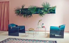 Match made in heaven: tropische planten met roze - Roomed