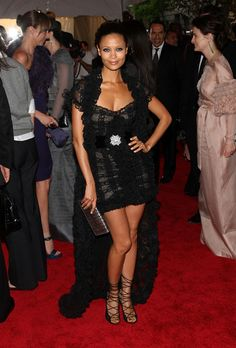 Thandie Newton  - The Metropolitan Museum Of Art Costume Institute Annual Gala
