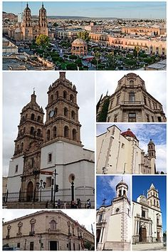 Durango City - Wikipedia Durango Mexico, Mexico Travel, Barcelona Cathedral, Notre Dame, Taj Mahal, Louvre, Adventure, City, Building