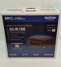 Brother Wireless Inkjet Color All-in-One Printer Auto Document Feeder Brother Mfc, All In One, Printer, Garden, Color, Garten, Printers, Lawn And Garden, Colour