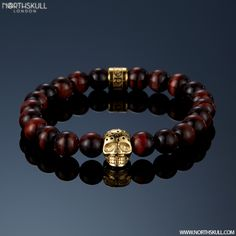 New Colorway Release ! | Our NEW Red Tiger Eye & Perforated Gold Skull…