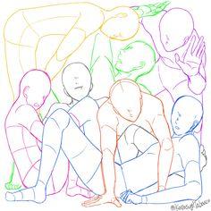 """田畠はたばた 的 Twitter: """"7人を正方形に閉じ込める構図です トレスご自由にどうぞ https://t.co/cOvEKK3UVe"""""""