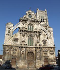 Eglise Saint-Pierre, Auxerre, Bourgogne