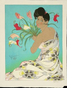 Paul Jacoulet (1902-1960) French Printmaker