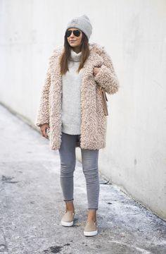 Fashion Landscape | How To Wear A Teddy Coat
