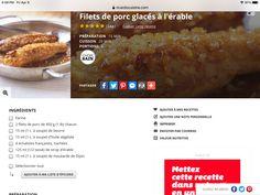Portion, Filets, 20 Min, Healthy Choices, Pork, Recipe