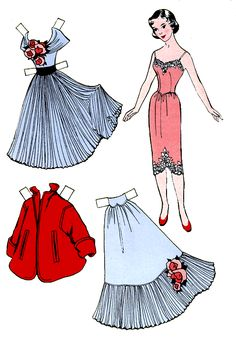 NEW! Mary Lee Paper Dolls - this site has a ton of great printable paper dolls and other crafting its - so much