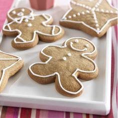 Gingerbread Men recipe using brown sugar blend from Splenda. Yum!
