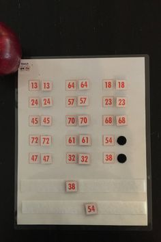 Double Digit Number Match - Visual Discrimination, busy bag, math center, number sense, Montessori, homeschool, counting
