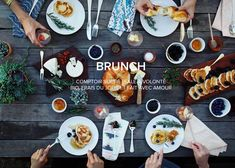 Brunch in Brussel - Henri & Agnes Best Brunch Places, Brunch Spots, Looks Yummy, Creative Food, Food Inspiration, Food Photography, Cooking Recipes, Dinner, Gourmet