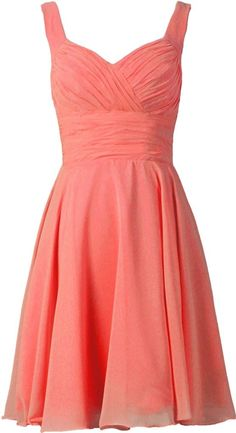 ANTS Women's V-neck Chiffon Bridesmaid Dresses Short Prom Gown at Amazon Women's Clothing store:
