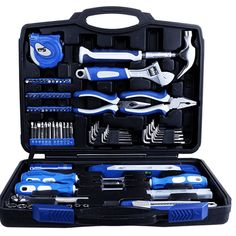 Buy Vastar 102 Piece Home Repair Tool Kit, General Household Tool Kit for Home Maintenance with Plastic Toolbox Storage Case, Vastar, Vastar, Tools & Home Improvement Hand Tool Kit, Tool Set, Graduation Gifts For Guys, Best Valentine Gift, Valentine Ideas, Cool Lock, Home Tools, Screwdriver Set, Phillips Screwdriver