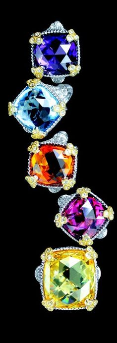Judith Ripka Monaco Ring Collection