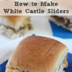 Food copycat recipes on pinterest long john silver for White castle double fish slider with cheese