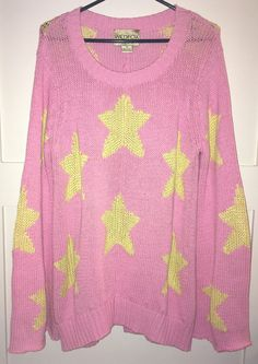 WILDFOX White Label Starry Night Sweater in Bel Air Pink M $348  | eBay