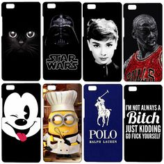 ">> Click to Buy << P8 Lite 5.0"" Inch Star Wars Black Cat Minions Pattern Hard Case  Cover Fundas For Huawei Ascend P8 Lite / Mini  Phone Capa Coque #Affiliate"
