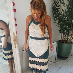 Summer we love ❤ Amalfi SUPER NEW Dress - VMSS18 #vanessamontorostyle #VanessaMontoroCrochet #Authentic #timeless #handmade
