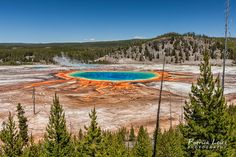 United States - Yellowstone National Park, Grand Prismatic Spring