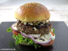 Einfach unglaublich lecker der griechische Burger