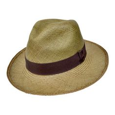 Classic Fedora Olive by Prymal (aka Panama hat), now featured on Fab.com