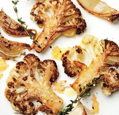 Never Accidentally Scorch Roasted Vegetables Again   photo Parmesan-Roasted Cauliflower Credit: Danny Kim SEPTEMBER 14, 2015 / WRITTEN BY RICK MARTINEZ