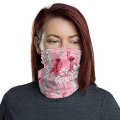 Visit our shop to learn more about these trendy, fashion face masks! Not just your average non medical face mask as they can also be used as a neck gaiter, headband / bandana, wrist band or balaclava! They are made from stretchy, breathable fabric and will fit most adult men or women. See more cloth face masks for sale by visiting us on Etsy! Pink Flamingos, Flamingo Decor, Masks For Sale, Summer Scarves, Neck Scarves, Neck Warmer, Womens Scarves, Balaclava, Fashion Face