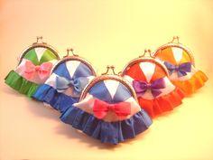 Monederos Sailor Moon hechos por Bajo una seta #monedero #sailor moon #coin purse #metal frame #costura #sewing #bajounaseta