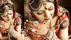 Traditional Indian Bridal Mehendi Henna Tattoos