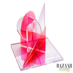 Premio diseñado por Catalina D'Anglade para Harper's Bazaar 2019. Harpers Bazaar, Events, Creative, Projects, Inspiration, Design, Log Projects, Biblical Inspiration, Blue Prints