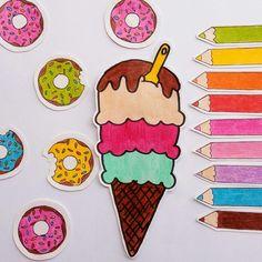 Desenho de sorvete ❤ #desenhosdadani #desenhos #desenhosdadani2017 #draw #ilustração #ilustrações2017 #sorvete