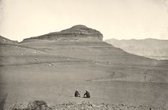Headlands north of the Colorado River Plateau, 1872. (Timothy O'Sullivan/NARA)