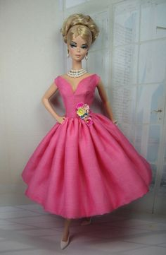 Pink Blossom for Silkstone Barbie and Victoire by MatisseFashions