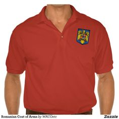 Romanian Coat of Arms Polo Shirt
