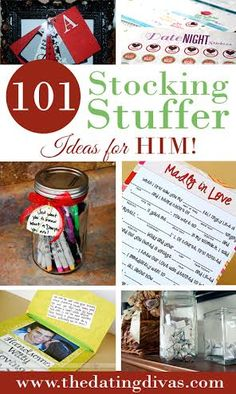101 awesome and ah-mazing ideas to use for HIS stocking!