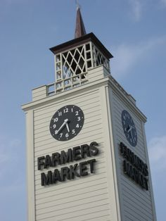 Farmers Market:  Near Hollywood