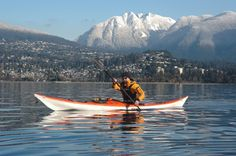 Sea kayaking in Vancouver - this was sooo much fun!!!!