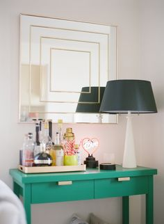 Mirror, mirror: http://www.stylemepretty.com/living/2014/01/22/20-ways-to-decorate-your-walls/