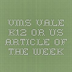 vms.vale.k12.or.us  Article of the Week
