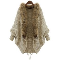 Wholesale Fashionable Solid Color With Faux Fur Long Sleeve Women's Cardigan Only $12.62 Drop Shipping | TrendsGal.com