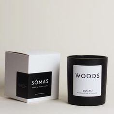 A collection of luxury scented candles handcrafted in Cork, Ireland.