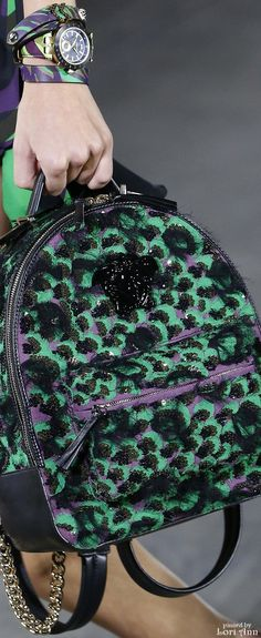 Versace Spring 2016 | House of Beccaria~