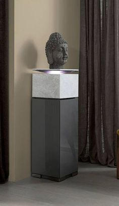 Discover all the information about the product Contemporary pedestal / stone / with integrated light EROS COLLECTION by Gabriel López - MOBIL FRESNO and find where you can buy it. Furniture Pedestal, Display Pedestal, Sculpture Stand, Contemporary, Furniture Decor, Pedestal, Lobby Interior, Sideboard Furniture, Furniture Design