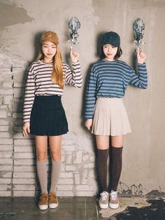 Official Korean Fashion : Korean Twin Look Fashion